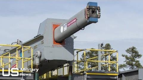 US NAVY 5600 mph RAILGUN - Navy's Gigantic Electromagnetic Railgun Is Ready for Deployment-1