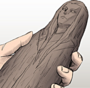 Venersis' carving of Meina