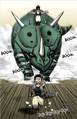 Yulian Chased by Noya and Rhinoceros