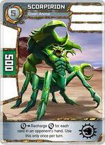 Scorpirion verde