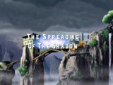 The Spreading Of The Shadow