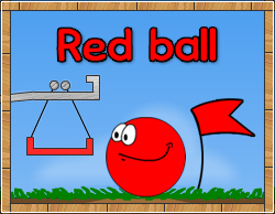 Red ball 250x194