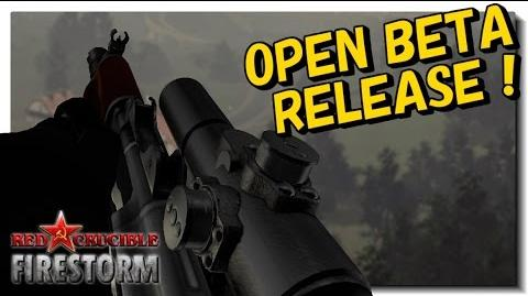 Red Crucible Firestorm Open Beta Launch