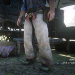 傳奇公羊皮蝙蝠翼套褲