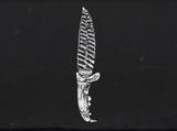 Нож из кости койота