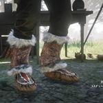 傳奇狐皮莫卡辛鞋
