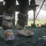 傳奇郊狼皮護腿