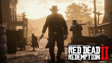 Red Dead Redemption 2 демонстрация игрового процесса