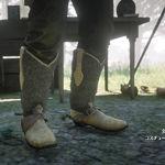 野豬公牛皮獵鳥靴