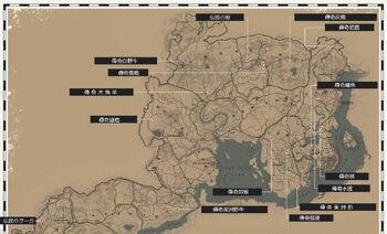傳奇動物狩獵地圖
