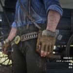 獾皮步槍手套