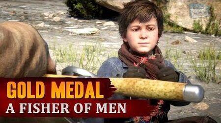 Red Dead Redemption 2 - Mission 21 - A Fisher of Men Gold Medal
