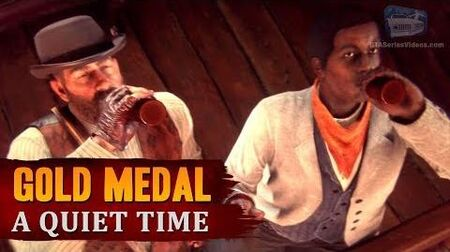 Red Dead Redemption 2 - Mission 13 - A Quiet Time Gold Medal