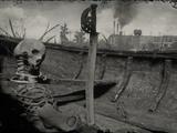 Zerbrochenes Piratenschwert
