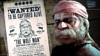 Red Dead Online Legendary Bounty 2 - The Wolf Man - Camp (5-Star Difficulty - Solo)