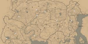 RDR2 Map Felsschnitzereien