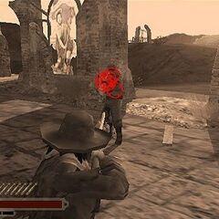 Der Dead-Eye in Red Dead Revolver