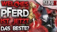 Direktvergleich der besten Pferde Welches ist wirklich das beste Pferd Red Dead Redemption 2 Deutsch