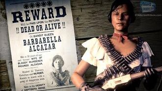 Red Dead Online Legendary Bounty 1 - Barbarella Alcazar (5-Star Difficulty - Solo)