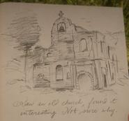 RDR 2 Verlassene Kirche Tagebuch