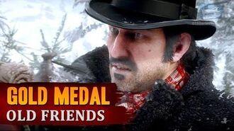Red Dead Redemption 2 - Mission 3 - Old Friends Gold Medal