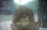 Bigfoot ist bedrückt