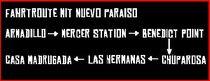 Route Zug Mit Mexiko