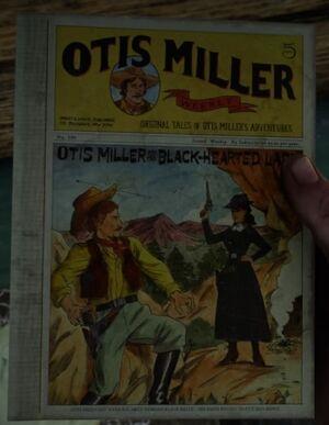 Buch Otis Miller und die Lady mit dem schwarzen Herzen