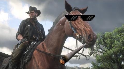 Red Dead Redemption 2 - Lustige Fails auf dem Pferd
