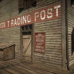 Das Hehlergeschäft von Van Horn Trading Post
