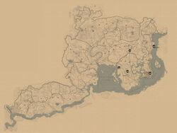 RDR2 Hehler Karte
