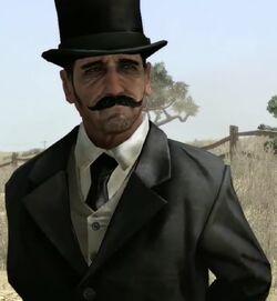 Mysteriöser Mann