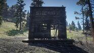 Ehemaliges Sheriffbüro von Limpany