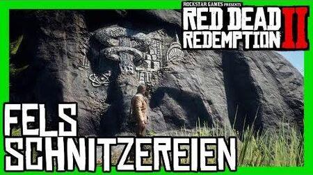 Red Dead Redemption 2 Alle 10 Felsschnitzereien Fundorte, Sammlerstücke, 100% Abschluss