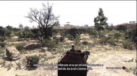 Red Dead Redemption Walkthrough (Blind) German HD Überfall auf Fort Mercer 1 2