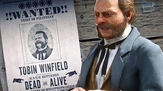 Red Dead Online Legendary Bounty 7 - Tobin Winfield (5-Star Difficulty - Solo)