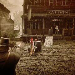 Der Dead-Eye in Red Dead Redemption 2