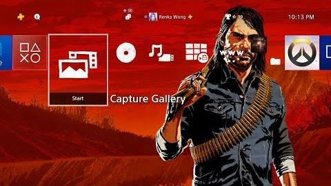 Red Dead Redemption 2 Theme PS4