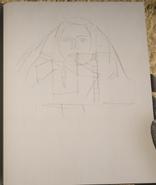 RDR 2 Gesicht in der Bergwand Zeichnung John