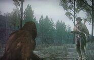John und Bigfoot