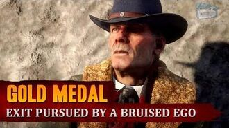 Red Dead Redemption 2 - Mission 10 - Exit Pursued by a Bruised Ego Gold Medal