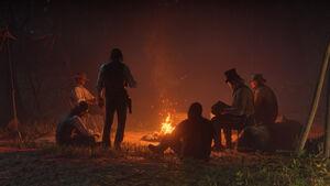 RDR2 Van der Linde Gang Camp