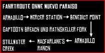 Route Zug Ohne Mexiko
