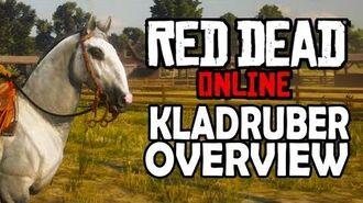 Red Dead Online Horses - Kladruber Overview