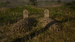Gräber von Hosea und Lenny