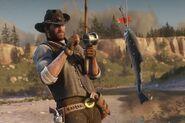 RDR2 Fishing rod 02