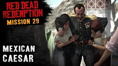 Red Dead Redemption - Mission 29 - Mexican Caesar (Xbox One)