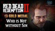 RDR2 PC - Mission -7 - Who is Not without Sin -Replay & Gold Medal-