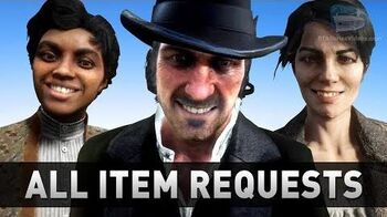 Red Dead Redemption 2 - All Item Requests & Locations (Errand Boy Trophy)