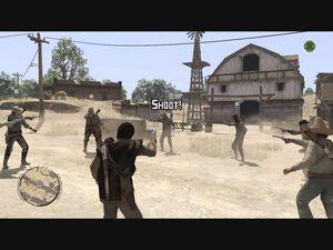 Mexican standoff start